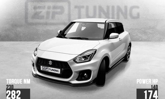 Suzuki Swift Sport tuning